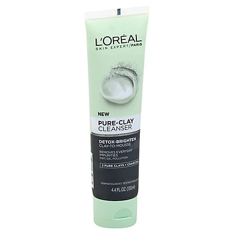 Loreal Pure Clay Cleanser - 4.4 Fl. Oz.