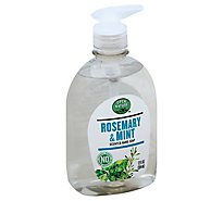 Open Nature Hand Soap Rosemary & Mint Scented - 12 Fl. Oz.