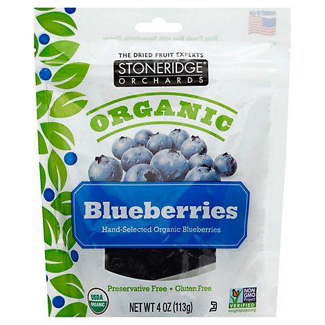 Stoneridge Orchards Blueberries Dried Organic - 4 Oz