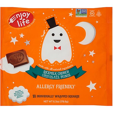 Enjoy Lif Ricemilk Cr Hlw Bar Choco - 6.3 Oz