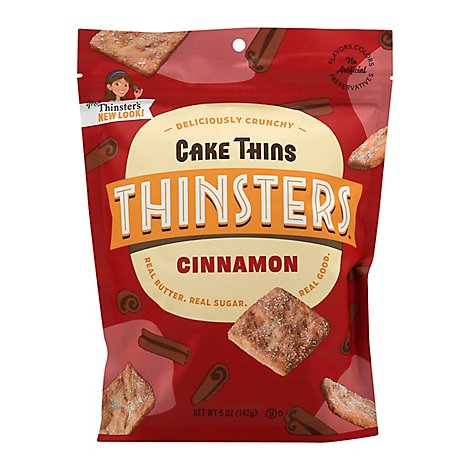 Mrs Thinsters Cookie Thin Cin Crum Cake - 5 Oz