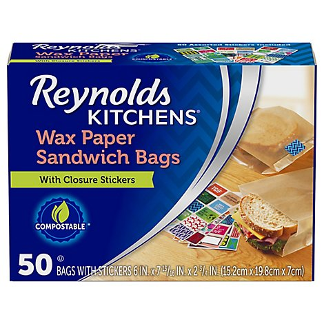 Reynolds Bags Wax Paper - 50 Count