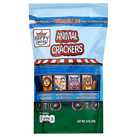 Happy Snacks Animal Crackers - 8 Oz