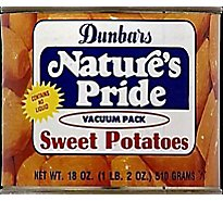 Dunbars Natures Pride Organic Cut Sweet Potatoes - 15 Oz