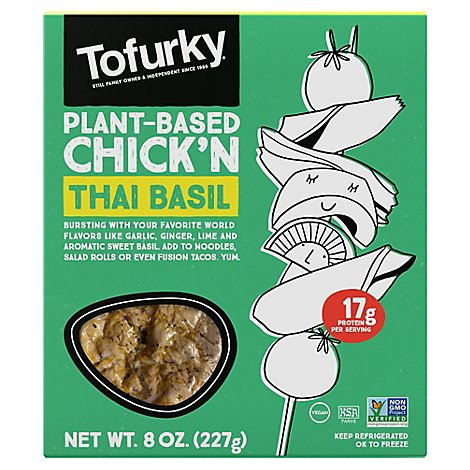 Urky Thai Basil Roasted Chickn - 8 Oz