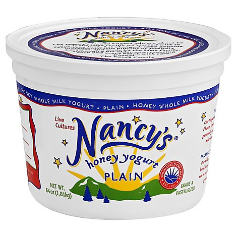 Nancys Plain Yogurt - 8 Fl. Oz.
