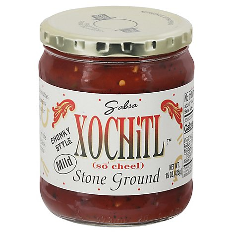 Xochitl Salsa Stone Ground Mild - 15 Oz