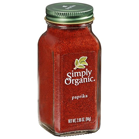 Simply Or Paprika Grnd Org - 2.96 Oz
