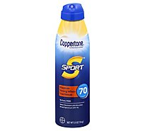 Coppertone Sport Spray Spf70 - 5.5 Fl. Oz.