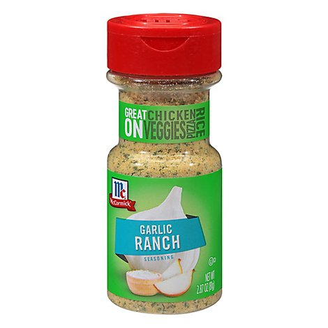 McCormick Seasoning Garlic Ranch Jar - 2.87 Oz