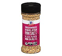 McCormick Himalayan Pink Salt Black Pepper And Garlic All Purpose Seasoning 6.5  Oz