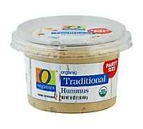O Organics Organic Hummus Traditional Party Size - 16 Oz