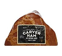Signature SELECT Ham Carver Applewood Double Smoked Half - 3.5 Lb