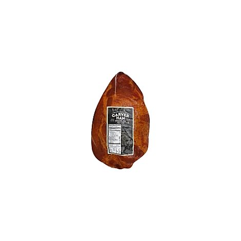 Signature SELECT Ham Carver Applewood Double Smoked Whole - 6.25 Lb
