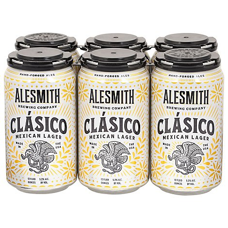 Alesmith Sublime Mexican Lager In Cans - 6-12 Fl. Oz.
