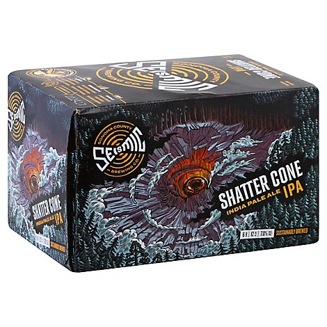 Seismic Brewing Shatter Cone Ipa In Cans - 6-12 Fl. Oz.