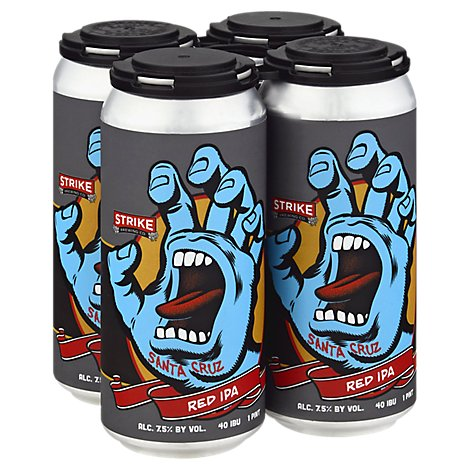 Strike Screaming Hand 4pk Can - 4-16Fl. Oz.