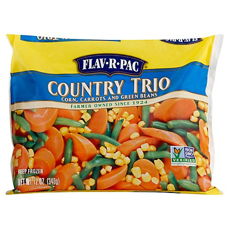 Flav-R-Pac Vegetable Blends Country Trio - 12 Oz