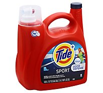 Tide Laundry Detergent Liquid Plus Febreze Odor Defense HE Turbo Clean Sport - 138 Fl. Oz.