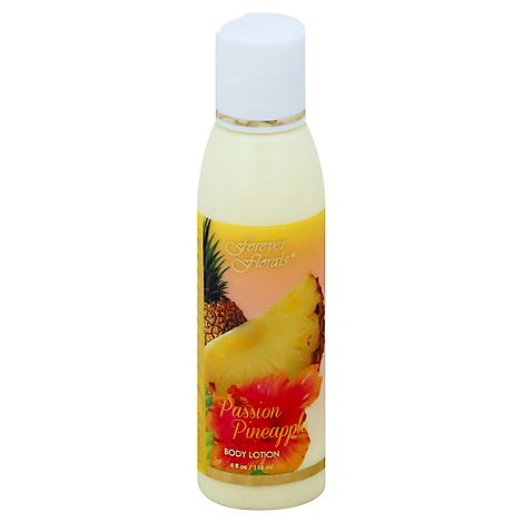 Forever Florals Body Lotion Passion Pineapple - 4 Oz