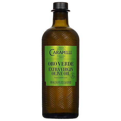 Carapelli Oro Verde Extra Virgin Olive Oil - 17 Fl. Oz.