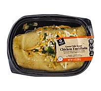 Signature Cafe Chicken Enchilada W Green Chile Single - 13 Oz
