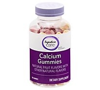 Signature Care Gummy Calcium Dietary Supplement - 100 Count