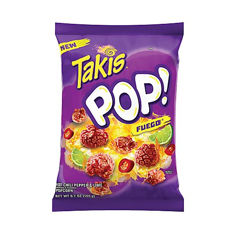 Barcel Pop Popcorn Fuego Bag - 6.7 Oz