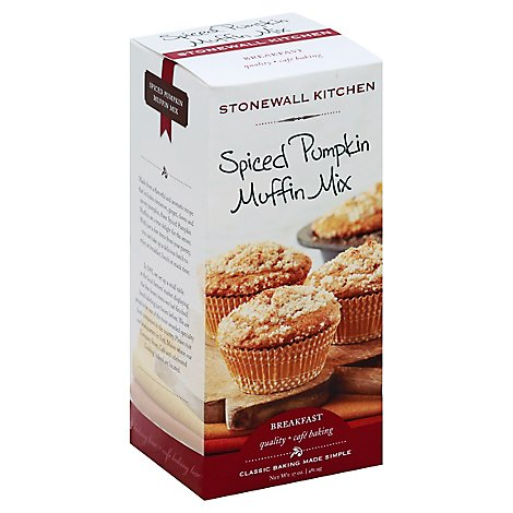 Stonewall Kitchen Spiced Pumpkin Muffin Mix - 17 Oz