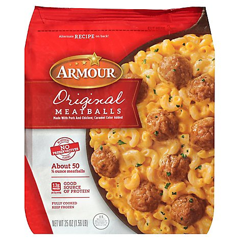 Armour Original Meatballs - 25 Oz