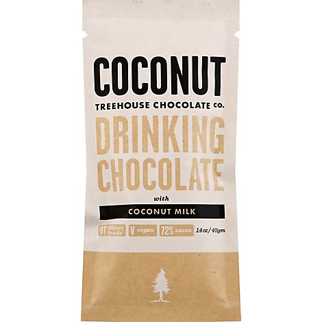 Coconut Milkocolate Co Coconut Drinking Chocolate With Coconut Milk - 1.4 Oz