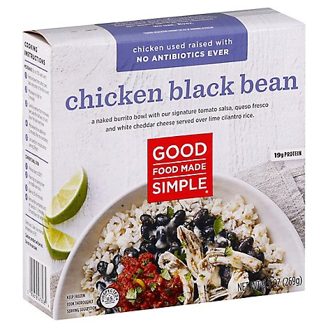 Good Food Made Simple Chicken Black Bean - 9.5 Oz