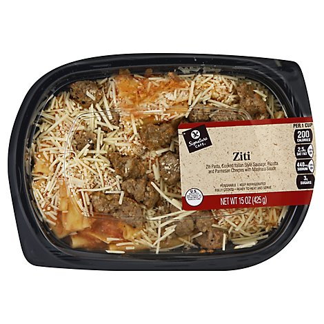 Signature Cafe Ziti Pasta - 15 Oz