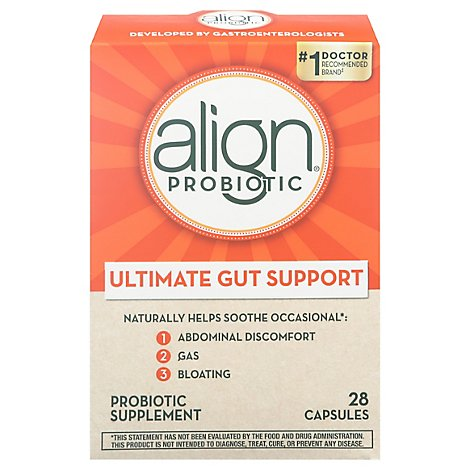 Align Probiotic Supplement 24x7 Digestive Support - 28 Count