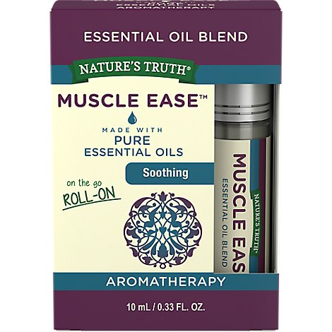 Nat Truth Muscle Roll On Oil - 0.33 Fl. Oz.