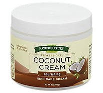 Nat Truth Coconut Cream - 4 Oz