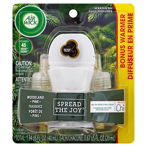 Airwick Starter Kit Woodland Pine 6/1 Ct - Each
