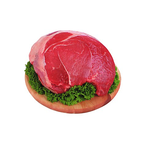 Meat Counter Beef USDA Choice Beef Sirloin Tip Roast With Veggies - 4.50 LB