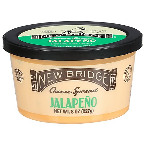 New Bridge Jalapeno Cheese Spread - 8 Oz