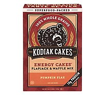 Kodiak Flapjack Mix Pumpkin Flax - 18 Oz