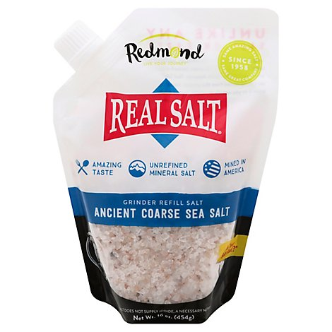 Redmond Realsalt Coarse Salt - 16 Oz