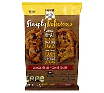 Toll House Simply Delicious Cookie Dough Chocolate Chip - 18 Oz