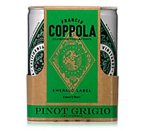 Coppola Pinot Grigio Diamond Can Wine - 4-250 Ml