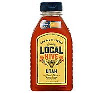 Lr Rice 100% Raw & Unfiltered Local Utah Honey - 16 Oz