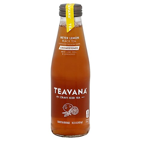 Teavana Beverage Black Tea Unsweetened Meyer Lemon - 14.5 Fl. Oz.