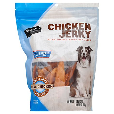 Signature SELECT Dog Treats Chicken Jerky Real Chicken - 24 Oz