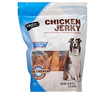 Signature Pet Care Dog Treats Chicken Jerky Real Chicken - 24 Oz