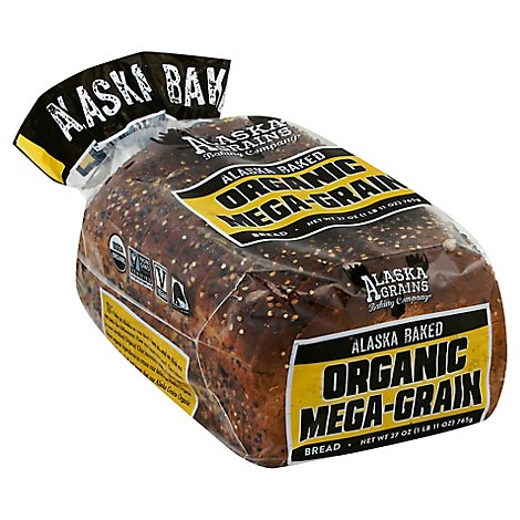 Alaska Grains Organic Seed Bread - 26 Oz