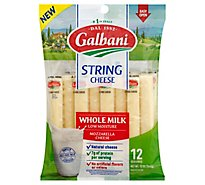 Galbani Whole Milk String Cheese - 12 Oz