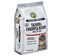 Open Nature Cat Food Adult Grain Free Salmon & Chickpea Recipe Bag - 4 Lb